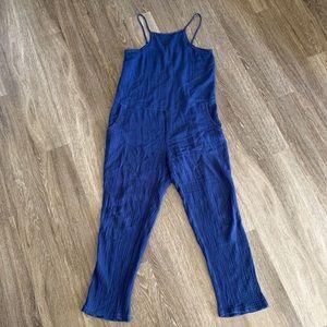 Anthropologie cloth & stone gauze jumpsuit